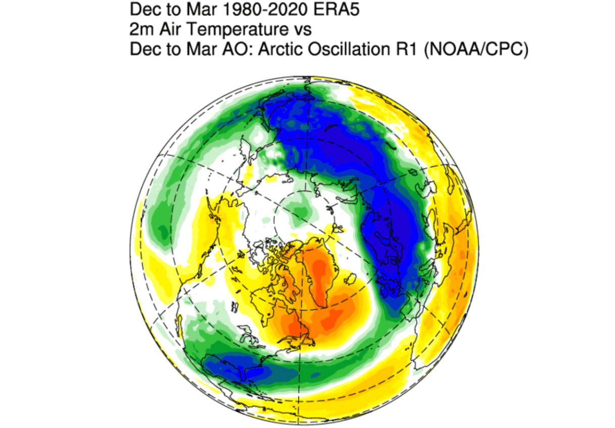 weather-forecast-march-april-2021-united-states-europe-ao-index-negative-phase-temperature