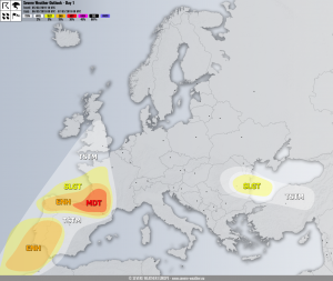 Severe weather outlook DAY 1