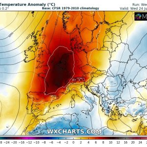 *HEAT WAVE* A new significant heat wave with peak temperatures 35-40 °C is becoming increasingly likely next week, July 22-28th 2019