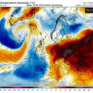 The weekly pattern across Europe – unusually warm weather continues through the mid-October, Oct 14th-21st