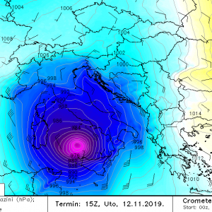 Increasing potential for the development of two warm-core systems (medicane) in the Mediterranean early next week