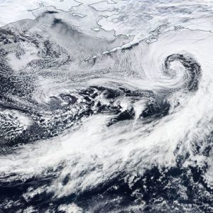 Jan 29th *update* on the powerful ~955 mbar cyclone over the Gulf of Alaska