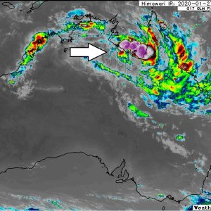 A dangerous tropical wave – Invest #98P forms along the coast of the Gulf of Carpentaria, Queensland, Australia – the enhanced potential for intense flooding