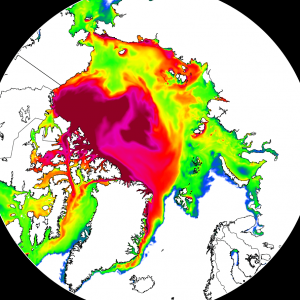 *ICE recovery* Arctic sea ice reaches the largest early February ice area in the past 11 years! It even exceeds the 2001-2010 average size
