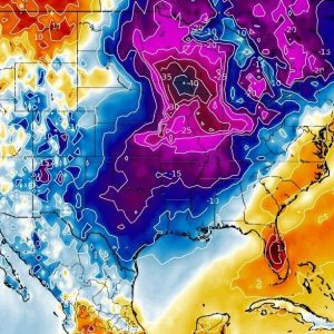 Arctic blast across the north and the northeast United States until Saturday