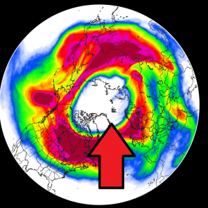 Uncertainties arise for Spring 2020, as the Polar Vortex starts to behave unusually. It turns bizarrely symmetrical and also cold enough to start the rare Ozone destruction process over the North Pole!