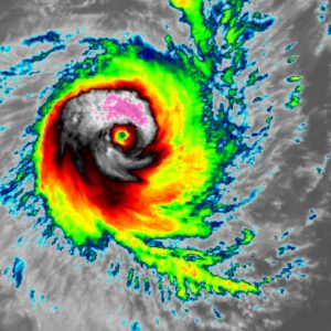 The explosive development of a Severe Tropical Cyclone #Ferdinand northwest of Australia – 85 knots sustained winds (Category 3)