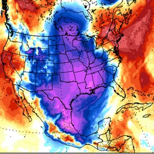 A new Arctic outbreak will result in a very cold week across the United States through the rest of February