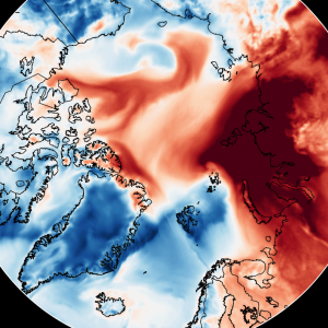 An unusual Arctic Warming Event begins over the eastern Arctic, raising temperatures over 20°C above normal! Are we in for an early ice melt season?