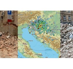 Destructive 5.3 magnitude #earthquake – the strongest in 140 years – hit Zagreb, Croatia this morning, March 22nd