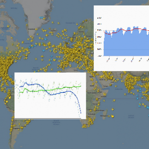 March brings a substantial (more than 45 %) drop in global commercial air traffic due to #COVID-19 virus outbreak