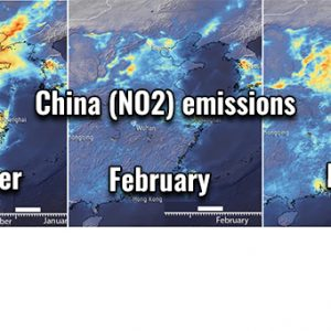 New data of #COVID-19 effects on the significant decline of nitrogen dioxide over China, now again increasing as lockdown is over