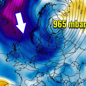 Pattern change coming soon. It leads to a deep trough and powerful winter storm into Scandinavia through the first days of April