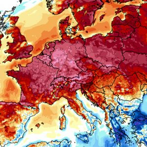 Very warm and stable weather continues across the European continent this week