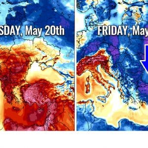 Turkey swings from extreme heat back to winter temperatures in two days – Cold blast across the eastern half of Europe