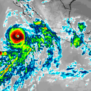 Tropical storm Cristina could become the first hurricane of 2020
