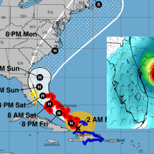 Hurricane Isaias forms ahead of the Bahamas, heading towards Florida