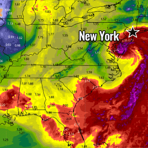Tropical Storm Fay forms – expected to blast into New York on Friday afternoon