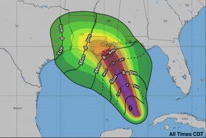 Hurricane marco landfall