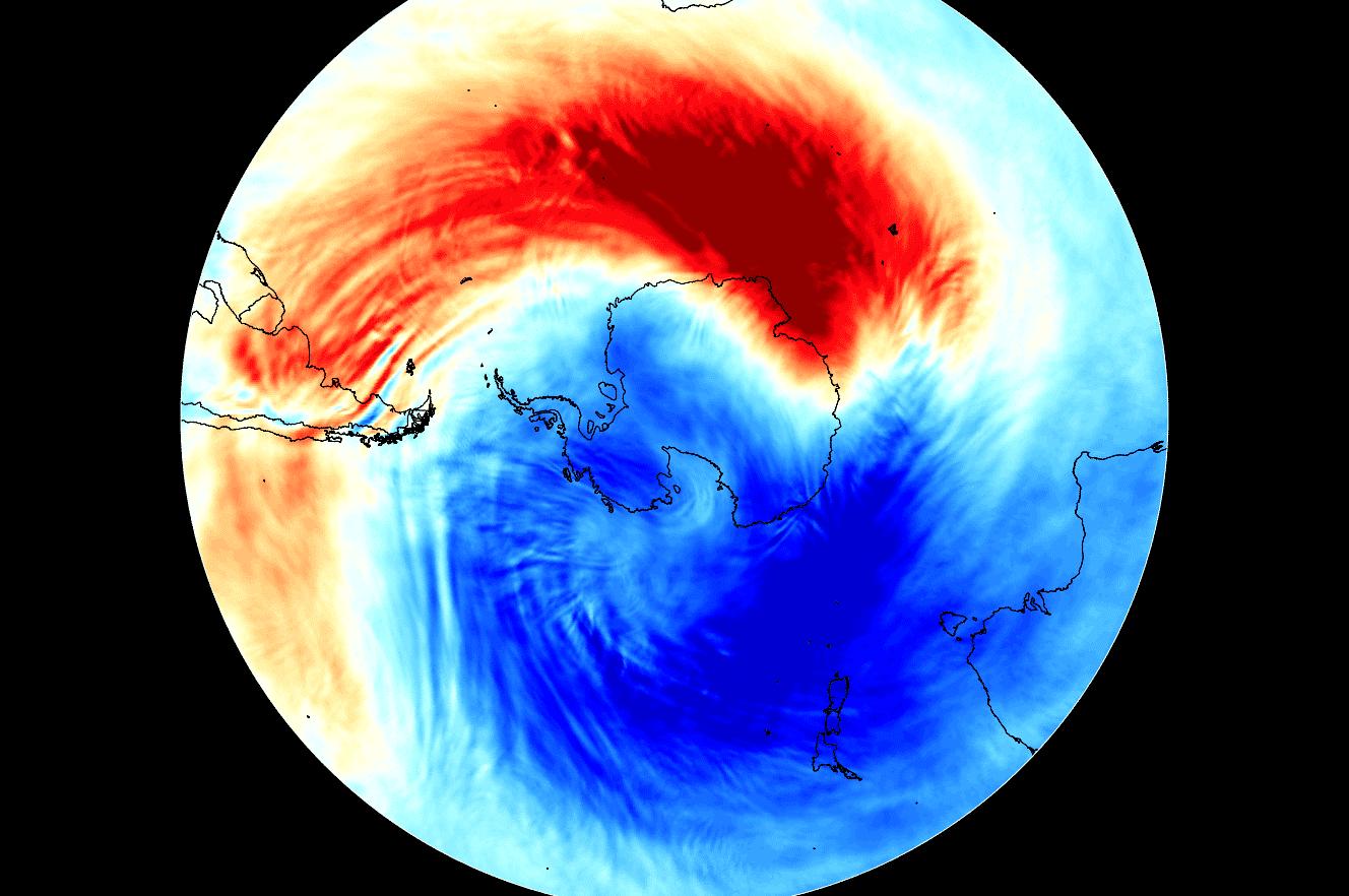 ozone hole polar august 2020 antarctica