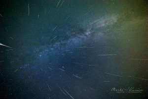 Meteor shower alert