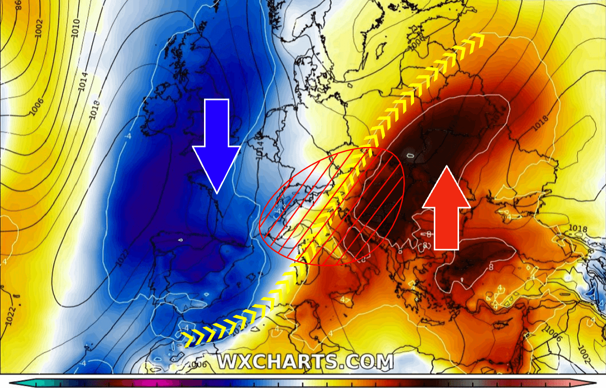 weather outbreak setup europe