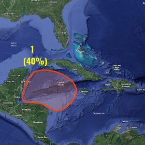 hurricane season caribbean formation