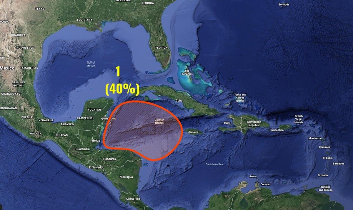hurricane season caribbean formation