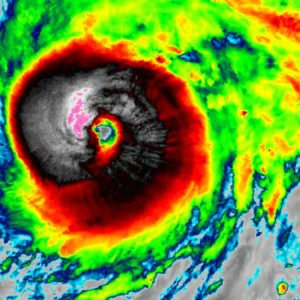 hurricane teddy satellite infrared