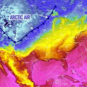 arctic cold forecast winter united states