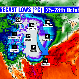 arctic outbreak record united states forecast lows