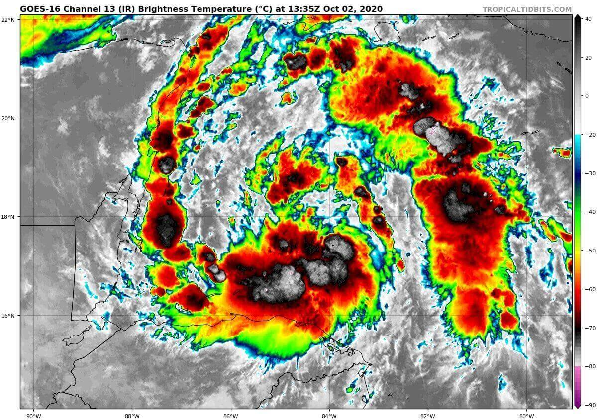 storm gamma infrared satellite