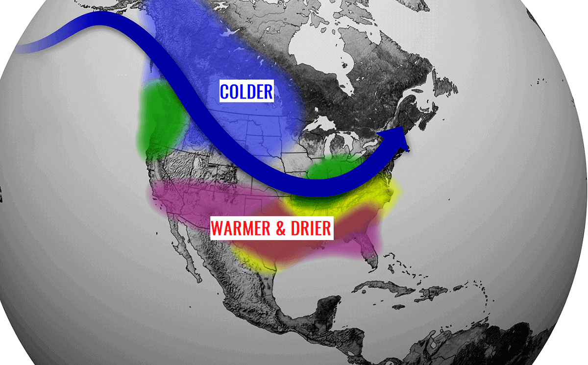 united states winter forecast 2020-21 trends