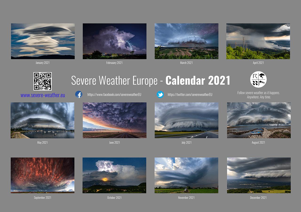 weather calendar 2021 SWE