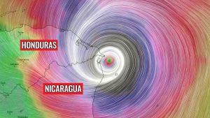 hurricane iota landfall nicaragua