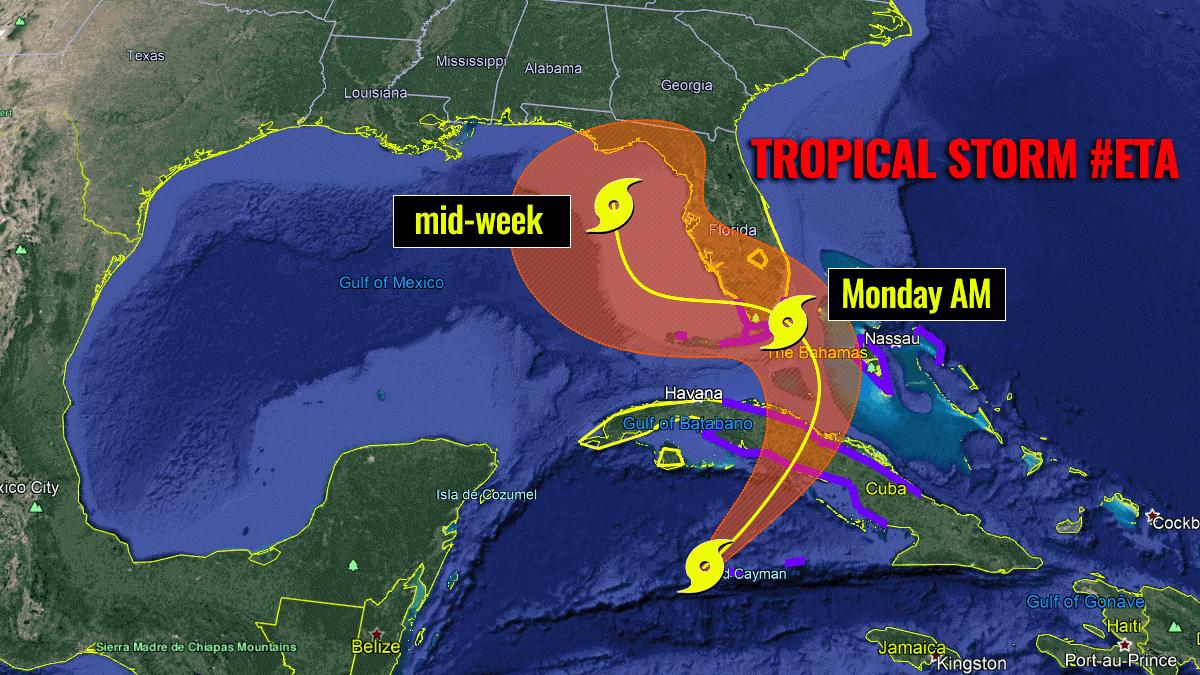 storm eta florida hurricane season
