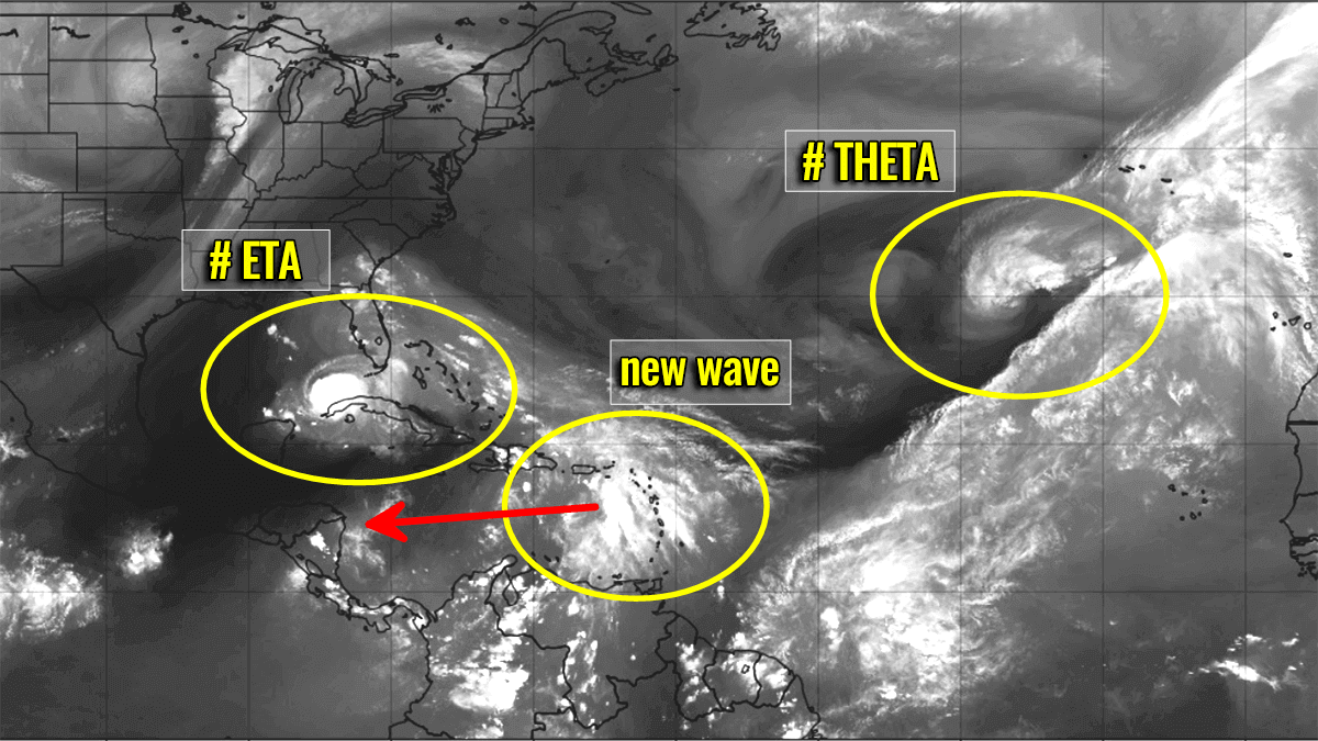 storm theta atlantic hurricane season