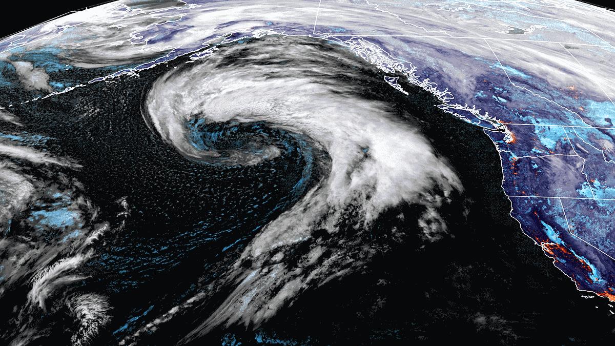 alaska extratropical storm pacific