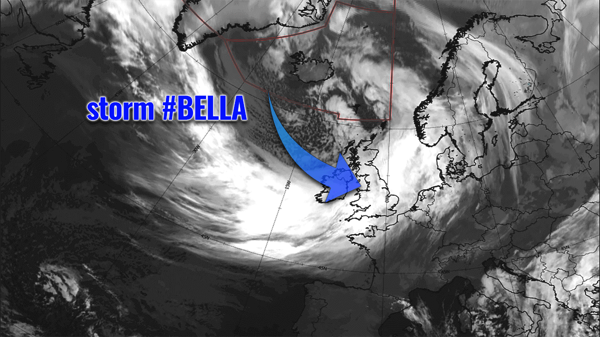 bella winter storm forecast europe satellite
