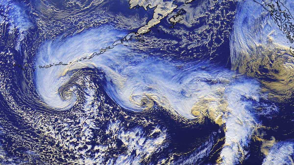 cyclone tandem north pacific alaska