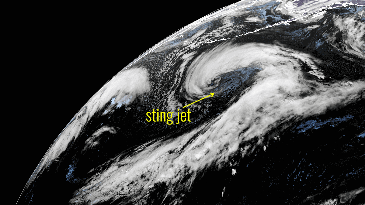 extratropical storm bomb cyclone pacific