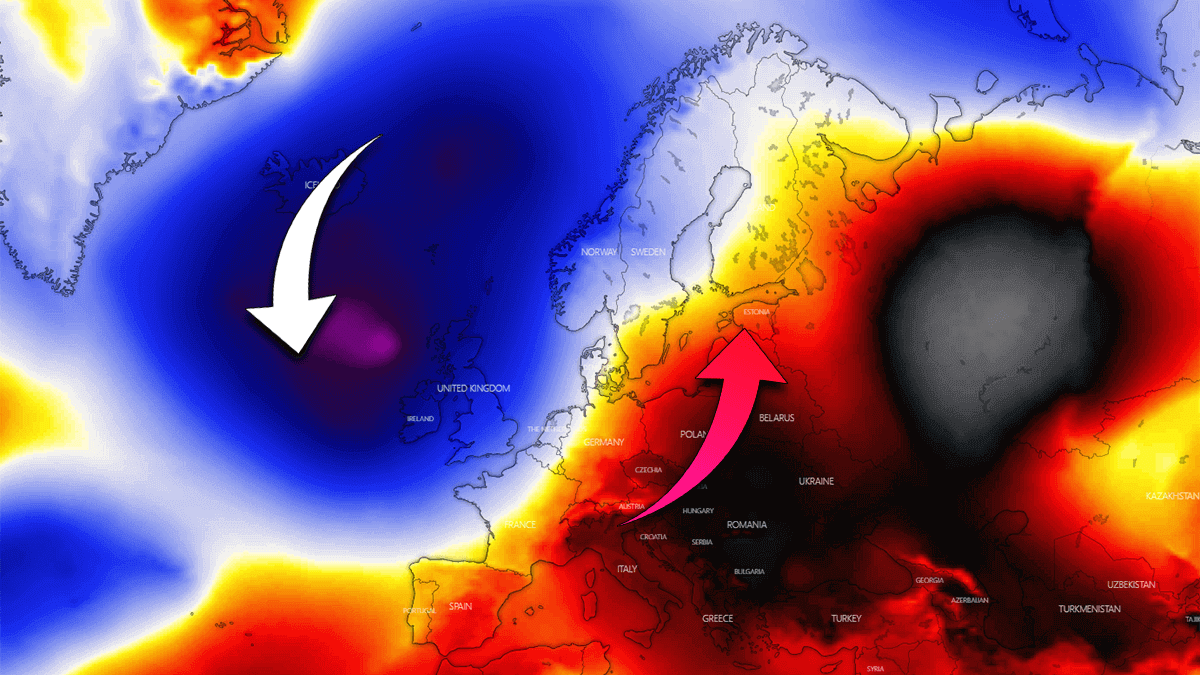 extreme warm forecast europe