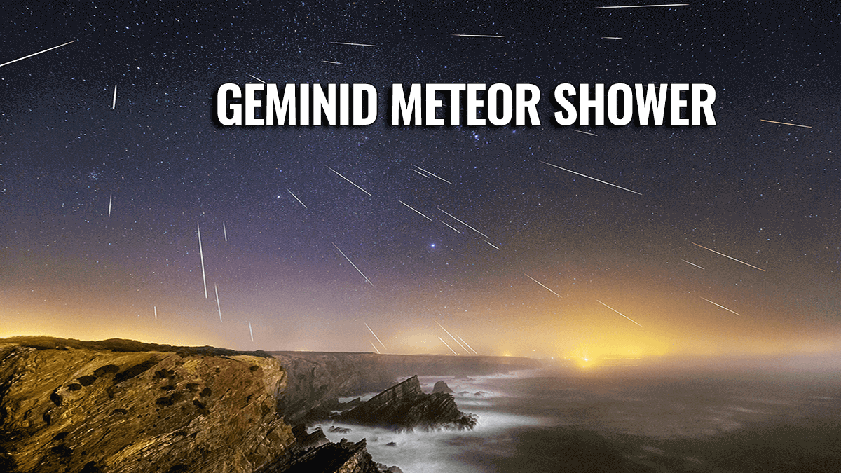 geminid meteor shower united states europe