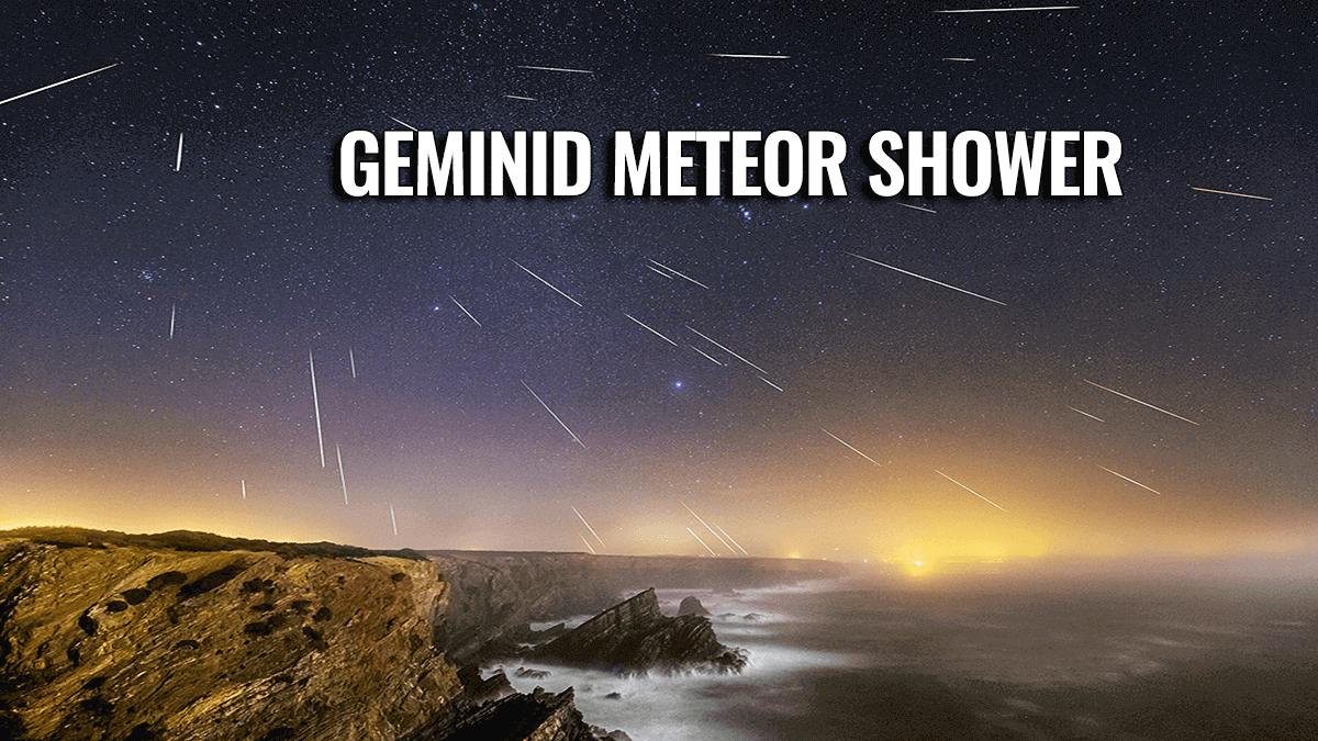 geminid meteor shower united states europe