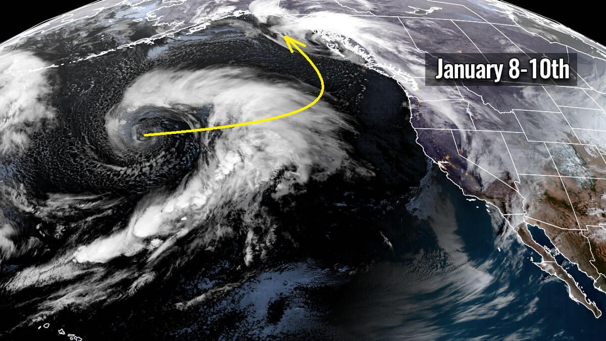 extratropical storm alaska