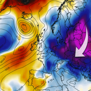 extreme cold winter weather forecast europe