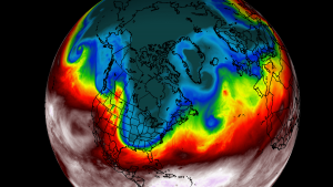 polar vortex breakdown stratospheric warming winter weather forecast united states europe