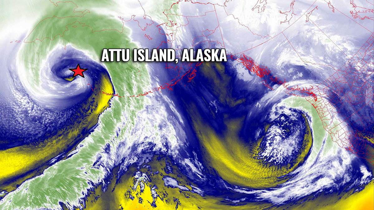 storm alaska west coast united states