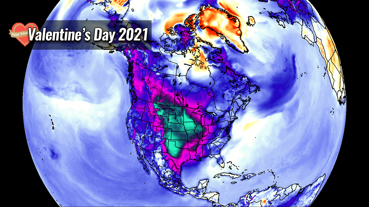polar vortex record cold valentines day united states