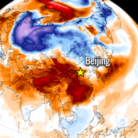 record heatwave asia china south korea